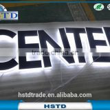 HSTD Eye catching Mini Indoor acrylic led channel letter signs