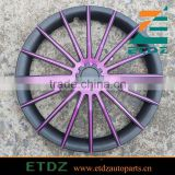 15inch Black/Violet Color Car Wheel Cover Color Wheel Cap