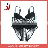 new design sexy fancy bra panty set