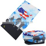 Cycling scarf in bandana/Tube bandana seamless outdoor sport head scarf/printed cover scarf
