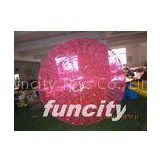 Inflatable sport Giant Inflatable Human Hamster Ball made of Colorful 1.0mm PVC material
