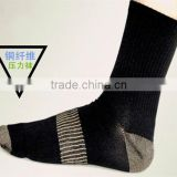 Copper fiber performance compression athletic socks