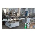 2000BPH Carbonated Drink Can Filling Line , Balanced Pressure Soft Drink Processing Line
