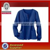 Long sleeves scrub top for lady