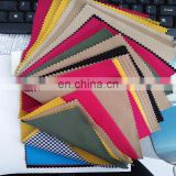 Wholesale twill style polyester rayon cotton blend woven spandex fabric for pants
