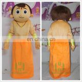 HI EN71 indian mascot costume for adult size,funny cartoon character mascot costume for hot sale