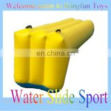 0.9mm pvc inflatable water slide game