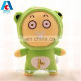 funny emoji plush stuffed toy lovely green infant rag doll