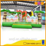 2016 new product inflatable fun city cartoon jumping castles children games