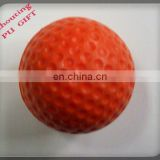 red pu stress ball