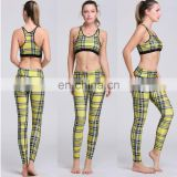 High Quality Padded Sports Bra Top and Leggings of One Activewear Set