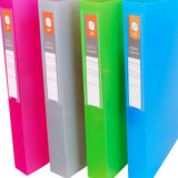Office Stationery 2D-Ring Lever Colorful Office File Folder