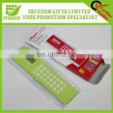 Customized Logo Printed Promotional Ruler With Calculator