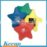 Stress toy Star shape custom keyring anti stress balls