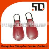 New Promotional Excellect Quality Leather Key Ring for Car Key