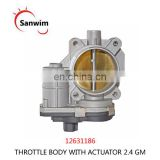 NEW THROTTLE BODY WITH ACTUATOR FOR 2.4 G-M FITS MANY DIFFERENT MODELS 12631186