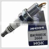 chinese suplier spark plug ng-k 2668 BKR8EIX For car high performance auto spark plug
