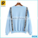 Autumn Wholesale Blank Cotton Blend Bulk Hip Hop Irregular Women Longline Elongated Long Hoodies