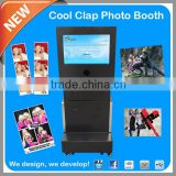 2015 Most Popular Wedding Photo Booth Equipment printing kiosk and digital signage