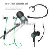 New Style Wireless Bluetooth Earphone Bass Music Sport Handsfree Earphone for IOS Android Smartphone