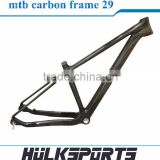 "Hot Sell China 29er Carbon Bicycle Frame MTB,Bicycle Carbon Frame Carbon 29"" MTB,BSA MTB Bicycle mtb carbon frame 29"