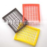 High quatity colorful Square Plastic plate carp fishing leaders fishing tackle accessories