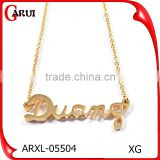 Jewellery Pendant Necklaces Letter Of The Alphabet Gold Jewelry Necklace
