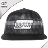 Guangdong Guangjia Wholesale character black cheap embroidered full nylon mesh trucker cap