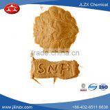 New2016 Concrete additive/China supplier/light brown powder Sodium Naphthalene Formaldehyde ZX-SNF