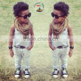 2015 Stylish babies matching shirt and pants clothing sets baby boy suits