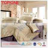 China manufacture elegant design warm soft bamboo reactive printed bedding
