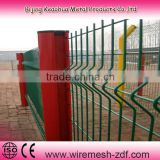 triangular bending fence/triangular bending wire mesh fence/bending triangular wire mesh fence