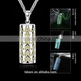 2016 statement necklace, luminous pendants necklace for boys