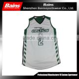 Custom sublimation wholesale reversible basketball uniforms&reversible basketball jerseys with numbers