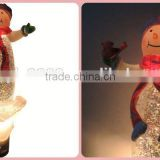 round paper lantern,battery powered led christmas light