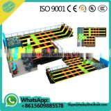 large indoor trampoline springs with ball pool indoor playground equipment