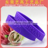 Novelty silicone custom sports bracelet from Disney Audited Factory