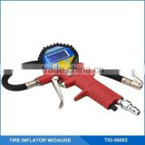 LCD Digital Tyre Inflator With Pressure Gauge, Tire Inflating Guns W/ Valve Tool and Deflating Button