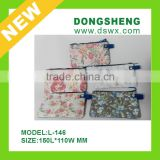 Practical Chic Floral Print flowers small handbags Zero Purse soft bags wuxi dongsheng china