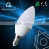 HIGH Cost-effective Epistar led candle light C35/C37 80Ra e14 led bulb C37 E14 Light Candle Light Led Light