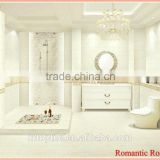 Most popular China high class and elegant romantic bathroom floor tiles and floor tile for home decoration