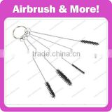 5pcs per set Airbrush Cleaning Brush Perfect for Scrubbing Away Ink Off Your Tubes and Grips