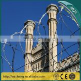 Guangzhou factory Free Samples Galvanized Razor Barbed Wire Fence For Kenya Market
