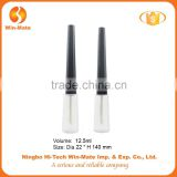 Long and thin conical hot-selling empty lip gloss tube containers with brush