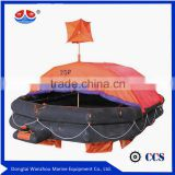 6 Persons SOLAS Customization Cheap Marine Self-righting Life raft/Inflatable Life Boat