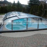 PVC tarpaulin outdoor and indoor small commercial above ground swimming pool cover                                                                         Quality Choice