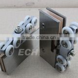 hot sale Good quality glass sliding roller 316 stainless steel hinges                                                                         Quality Choice