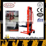 manual forklift hudraulic manual hand pallet stacker