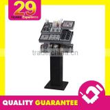 Black Strong Style Color Makeup Display Stand & Makeup Display Rack Makeup Mac Cosmetic Display Stand