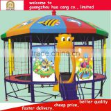 Trampoline park outdoor equipment, secure used trampolines bouncer for children